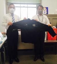 左:ミズノ株式会社 濱田様/右:万博協力室 時岡副理事