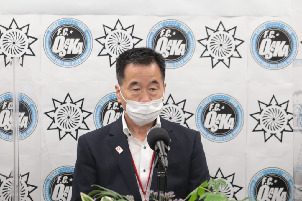 熊取町 藤原 敏司 町長