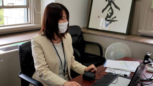 (写真) 大阪府公民戦略連携デスク 菅 プロデューサーによる公民連携事例紹介